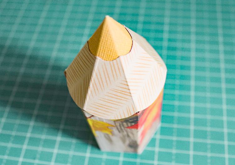 мастер-класс коробка-карандаш